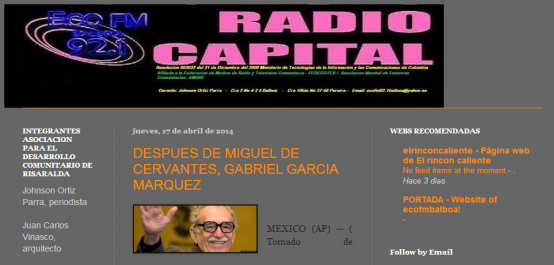 ECO FM 92.1 RADIO CAPITAL