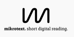 mikrotext verlag von Nikola Richter