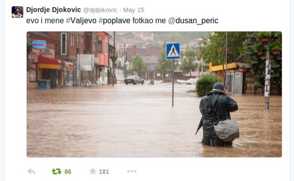 Kolubarske launches as Serbian floods rise