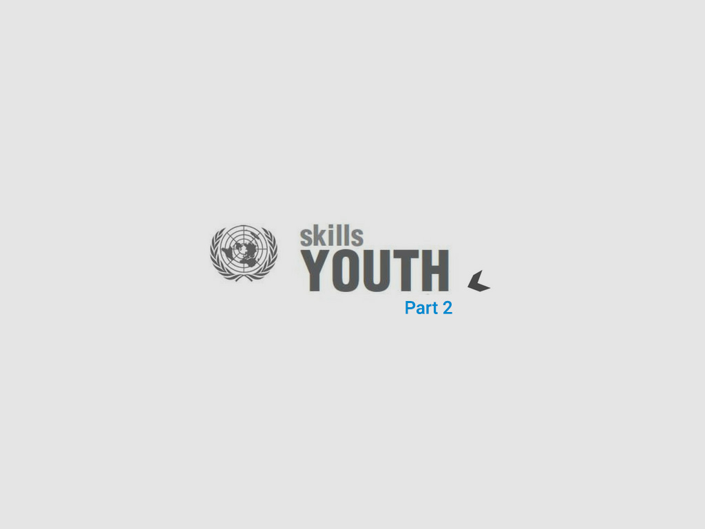 World Youth Skills Day: Two Young Journali
