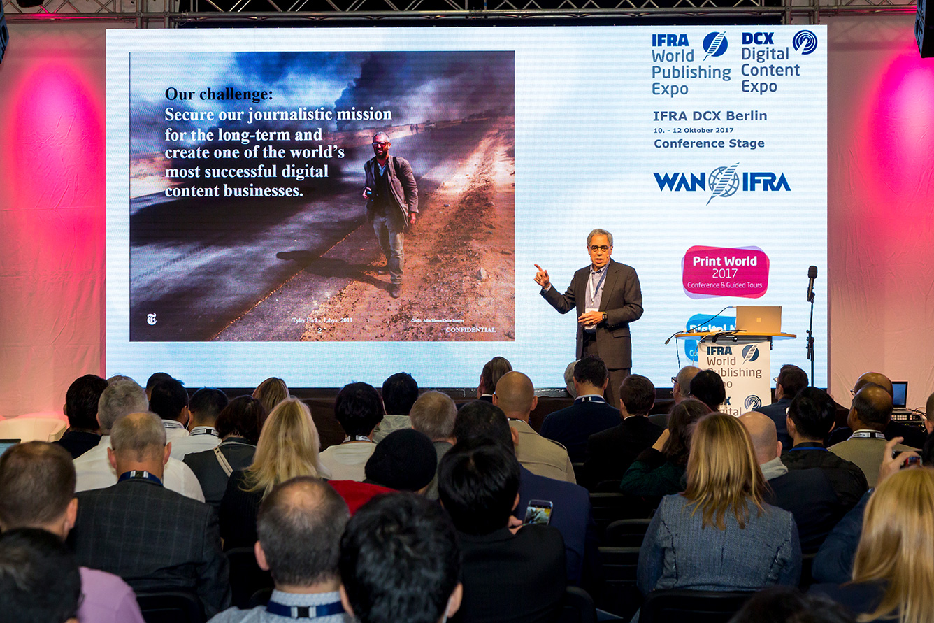 The Digital Content Expo 2018: WAN-IFRA Pr