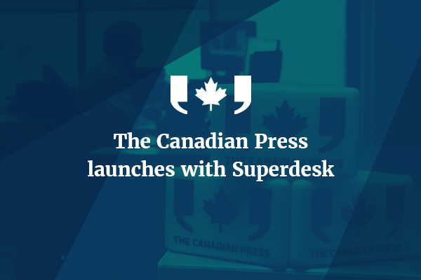 Press Release: The Canadian Press Launches