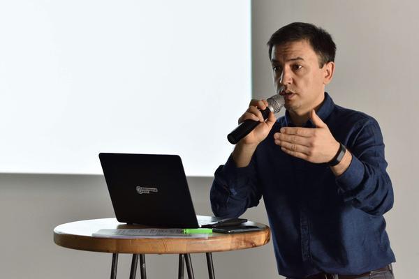 Current Time Digital Managing Editor Tolkun Umaraliev